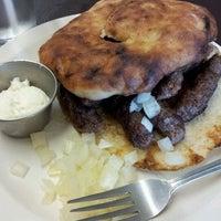 Photo taken at Cafe Pita+ by Kaleb F. on 3/3/2012