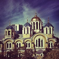 Photo taken at St Volodymyr's Cathedral by Mikhail G. on 9/12/2012