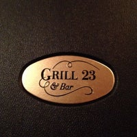 Photo taken at Grill 23 & Bar by John T. on 7/18/2012
