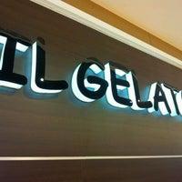Photo taken at Il gelato by Elio P. on 4/1/2012