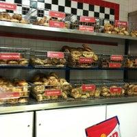 Photo taken at Sam's Bagel & Deli by Alberto S. on 7/8/2012