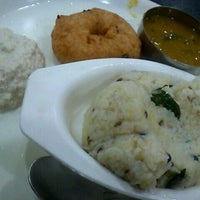 Photo taken at Saravana Bhavan by 2pong on 3/7/2012