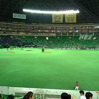 Photo taken at Fukuoka Yahuoku! Dome by Tetsuya O. on 8/11/2012