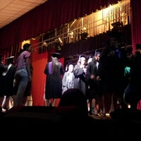 Photo taken at Teatro Municipal de San Lorenzo by Alcides R. on 8/23/2012