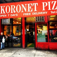 Photo taken at Koronet Pizza by Nick C. on 4/24/2012