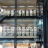 Photo taken at Bibliothèque et Archives nationales du Québec (Grande Bibliothèque) by Sarah0s on 5/17/2012