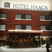 Photo taken at Best Western PLUS Hotel Haaga by GigaBass on 2/17/2012