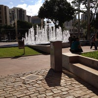 Photo taken at Praça Diogo de Vasconcelos (Praça da Savassi) by Brunogalodoido1 on 6/22/2012