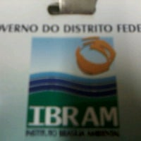 Photo taken at IBRAM - Instituto Brasília Ambiental by Fernando M. on 8/22/2012