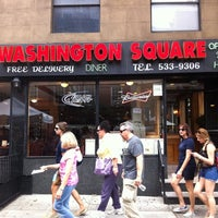 Photo taken at Washington Square Diner by Bob V. on 8/26/2012