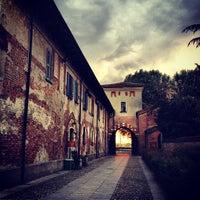 Photo taken at Abbazia di Chiaravalle by Storvandre on 5/8/2012