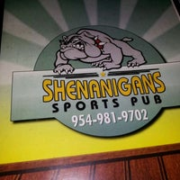 Photo taken at Shenanigans Sports Pub by Howard M. on 4/30/2012