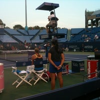 Photo taken at Connecticut Tennis Center by Kelsey L. on 8/23/2012