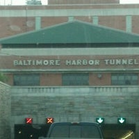 Photo taken at Baltimore Harbor Tunnel by Ron O. on 4/15/2012