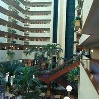 Photo taken at Embassy Suites by Hilton Tampa USF Near Busch Gardens by shin k. on 12/9/2011