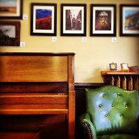 Photo taken at St. Elmo's Coffee Pub by kate i. on 9/10/2012