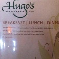 Photo taken at Hugo's Restaurant by Lissa C. on 8/26/2012