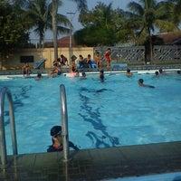 Photo taken at Swimming Pool area Mess Pangkalan TNI Al Malang Gajah & Banteng by Aniesnies p. on 4/28/2012