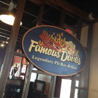Photo taken at Famous Dave's by Scott S. on 6/28/2012
