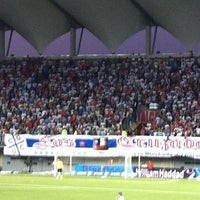 Photo taken at Estadio Bicentenario de La Florida by Sergio Emilio R. on 12/11/2011