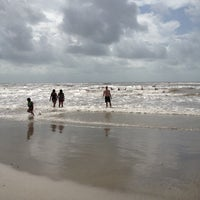 Photo taken at Beach by Phoebe K. on 8/25/2012