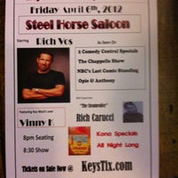 Photo taken at Steel Horse Saloon by Samantha L. on 4/6/2012