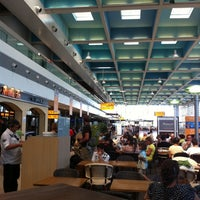 Photo taken at Marseille-Provence Airport (MRS) by Tatiana K. on 8/28/2011