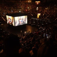 Photo taken at Mandalay Bay Arena by Travel Swagger on 11/13/2011