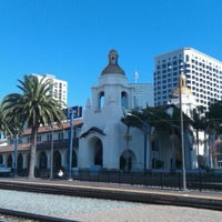 Photo taken at Santa Fe Depot by Shannon B. on 11/14/2011