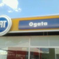 Photo taken at Fiat Ogata by Jefferson G. on 3/6/2012