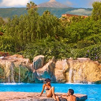 Photo taken at diverhotel Tenerife Spa&Garden 4* by Playa Senator Hoteles on 8/9/2011
