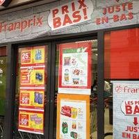 Photo taken at Franprix by Richard Y. on 6/14/2012