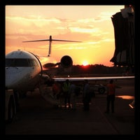 Photo taken at Gate D6 by Ian B. on 7/18/2012