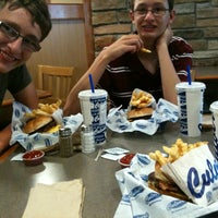 Photo taken at Culver's by John on 7/12/2012