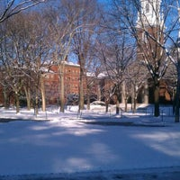 Photo taken at Widener Library by Caitlin H. on 1/20/2012