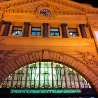 Photo taken at Flinders Street Station by Bruce T. on 7/26/2011