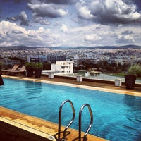 Photo taken at The MET Hotel by Tasos P. on 5/25/2012