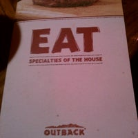 Photo taken at Outback Steakhouse by Danielle M. on 12/24/2011