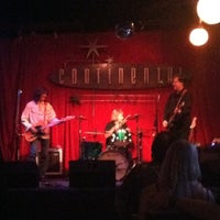 Photo taken at Continental Club by Jeanette P. on 6/11/2012