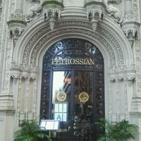 Photo taken at Petrossian Boutique & Cafe by AbatarCarService 7. on 1/24/2012
