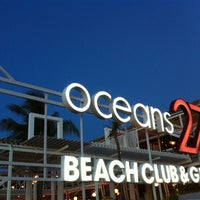 Photo taken at Oceans27 Beach Club & Grill by chocolatna on 4/8/2012
