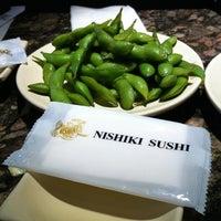 Photo taken at Nishiki Sushi by niky on 1/10/2011