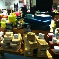 Photo taken at LUSH Fresh Handmade Cosmetics by Karla M. on 3/9/2012
