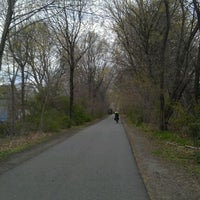 Photo taken at Minuteman Commuter Bikeway by Yashas J. on 4/9/2012