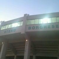 Photo taken at Stadio Baseball by Dino G. on 8/1/2012