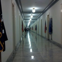 Photo taken at Cannon House Office Building by Erin K. on 6/21/2012