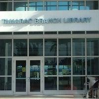 Photo taken at Tamarac Public Library by Lauren N. on 3/20/2012