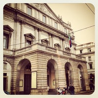 Photo taken at Teatro alla Scala by Paolo G. on 3/14/2012