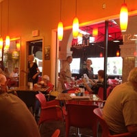 Photo taken at Saquella Cafe by Mike E. on 4/28/2012