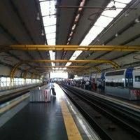 Photo taken at Fiumicino Aeroporto railway station (ZRR) by Pieter D. on 8/13/2012